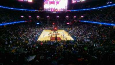 Quicken Loans Arena, section: 100, row: 20, seat: 3