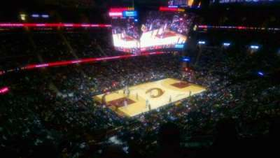 Quicken Loans Arena, section: 222, row: 3, seat: 2