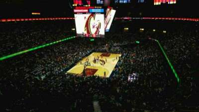 Quicken Loans Arena, section: 219, row: 2, seat: 6