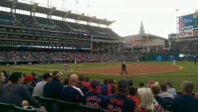 Progressive Field section 136
