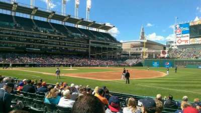 Progressive Field section 134