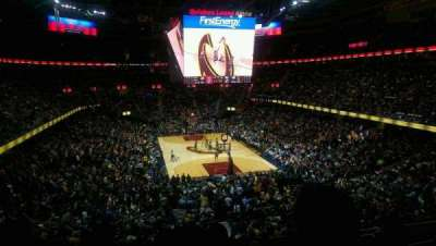 Quicken Loans Arena, section: 128, row: 28, seat: 12