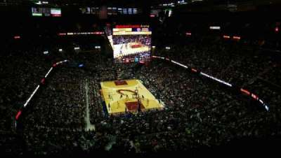 Quicken Loans Arena, section: 216, row: 8, seat: 1