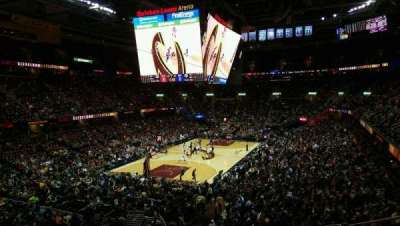 Quicken Loans Arena, section: 120, row: 23, seat: 3