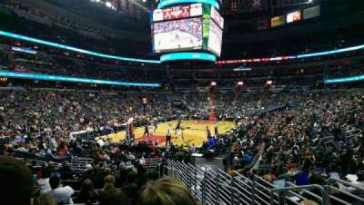 Verizon Center, section: 118, row: P, seat: 14