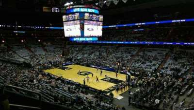 Verizon Center, section: 219, row: D, seat: 4
