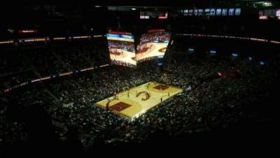 Quicken Loans Arena, section: 221, row: 13, seat: 6