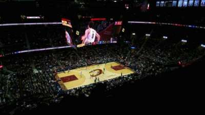 Quicken Loans Arena, section: 223, row: 13, seat: 14