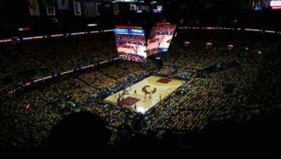 Quicken Loans Arena, section: 203, row: 12, seat: 16
