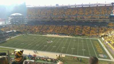 Heinz Field, section: 513, row: J, seat: 15