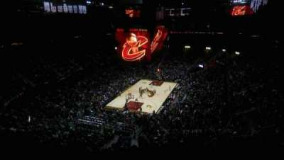 Quicken Loans Arena, section: 219, row: 11, seat: 13