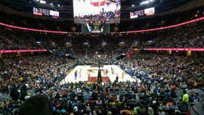 Quicken Loans Arena section 117
