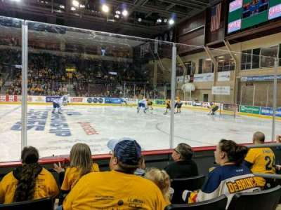Erie Insurance Arena, section: 120, row: D, seat: 4