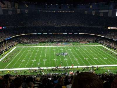 Mercedes-Benz Superdome section 641