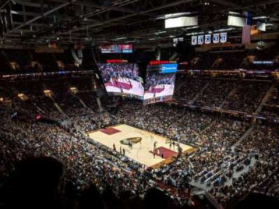 Quicken Loans Arena, section: 230, row: 8, seat: 4