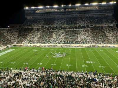 Spartan Stadium section 108