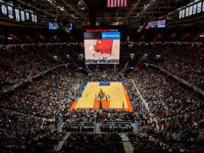 Quicken Loans Arena, section: 200, row: 2, seat: 11