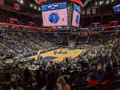 Target Center section 138