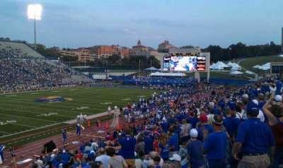 David Booth Kansas Memorial Stadium section 10