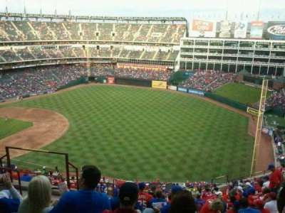 Globe Life Park in Arlington, section: 340, row: 18, seat: 6