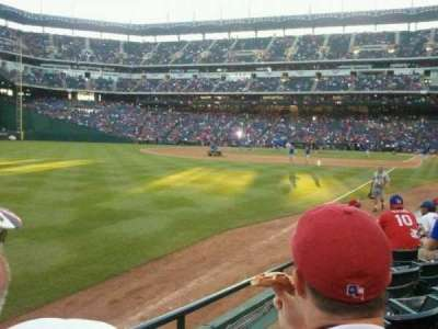Globe Life Park in Arlington, section: 12, row: 6, seat: 1