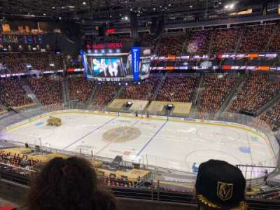 T-Mobile Arena, section: 207, row: D, seat: 14