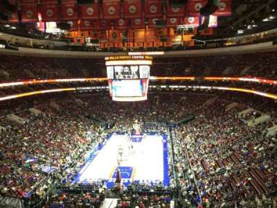 Wells Fargo Center section 207A