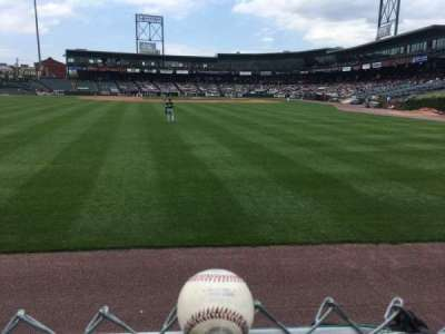 Clipper Magazine Stadium section LAWN