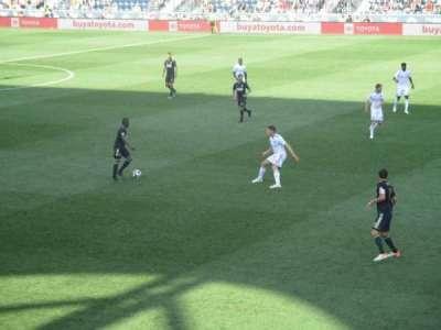 Talen Energy Stadium, section: 103, row: S, seat: 15