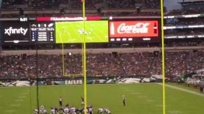 Lincoln Financial Field section 110