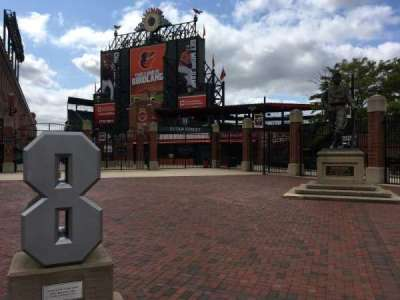Oriole Park at Camden Yards section Gate H