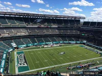 Lincoln Financial Field section 241