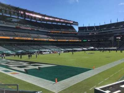 Lincoln Financial Field section 133