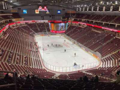Giant Center, section: 225, row: L, seat: 1
