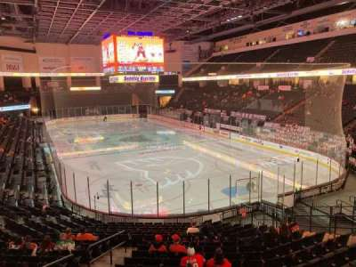 PPL Center, section: 111, row: 18, seat: 5