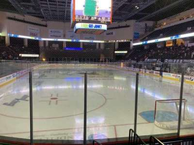 PPL Center, section: 111, row: 5, seat: 1
