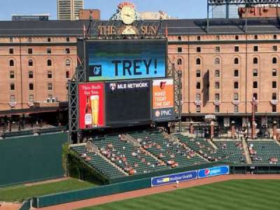 Oriole Park at Camden Yards section 368