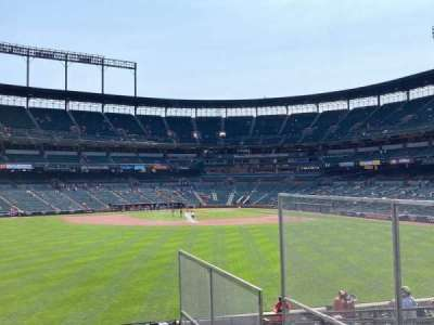 Oriole Park at Camden Yards section CENTER