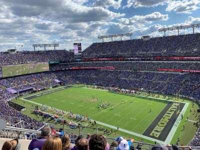 M&T Bank Stadium, section: 548, row: 10, seat: 11