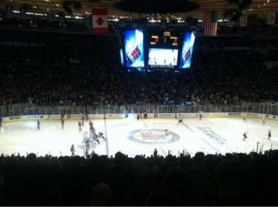 Madison Square Garden, section: 336, row: D, seat: 10