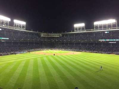 Wrigley Field section 341