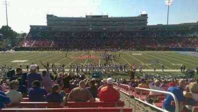 Gerald J. Ford Stadium, section: 124, row: 23, seat: 2