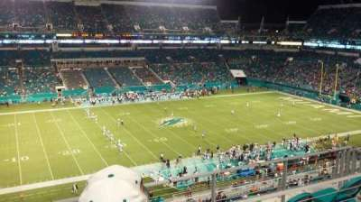 Hard Rock Stadium, section: 321, row: 6, seat: 13