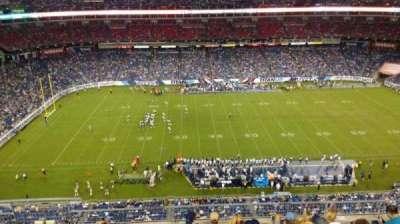Nissan Stadium, section: 313, row: H, seat: 14
