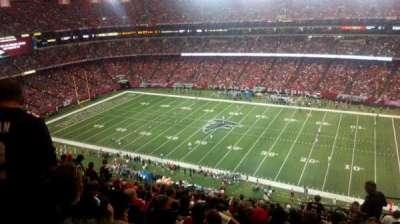 Georgia Dome, section: 319, row: 17, seat: 22