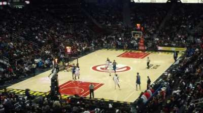 Philips Arena, section: 217, row: D, seat: 10