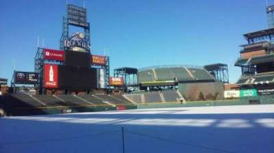 Coors Field, section: 139, rangée: 1