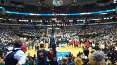 American Airlines Center, section: 112, row: A, seat: 12