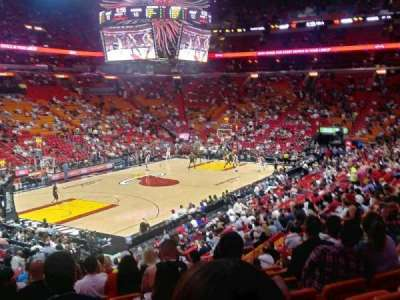 American Airlines Arena, section: 122, row: 27, seat: 10
