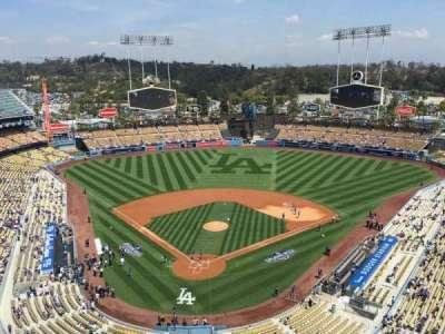 Dodger Stadium, section: 2TD, row: B, seat: 17